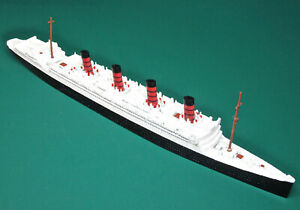TRIANG MINIC SHIPS M705 RMS AQUITANIA   VG part restored with masts