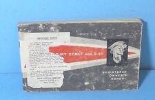63 1963 Mercury Comet/S-22 owners manual