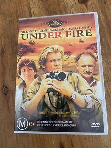 UNDER FIRE MOVIE DVD LIKE NEW ACTION WAR DRAMA THRILLER GENE HACKMAN