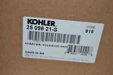 New Kohler OEM Starter 2509821 2509821-S 09S