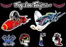 Troy Lee Designs Bike Bicycle Frame Decal Stickers Graphic Adhesive Set Vinyl #9