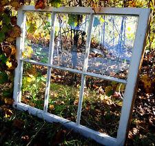 SASH ANTIQUE WOOD WINDOW PICTURE FRAME PINTEREST WEDDING 6 PANE *CAN CUSTOMIZE*