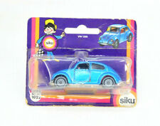 Siku Blue VW 1300 Volkswagon Beetle Bug On Card
