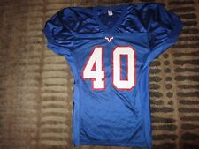 Mountain View High School Toros #40 Football Game Worn Jersey M MVHS