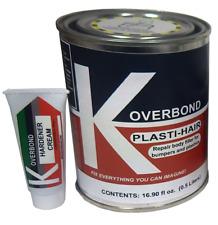 Repair Body Filler for Bumpers and Plastics - Plasti-Hair
