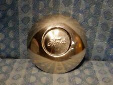 "1930-1931 Ford Model A Script Hubcap for 19"" Wheels - Cap has Steel Backing"