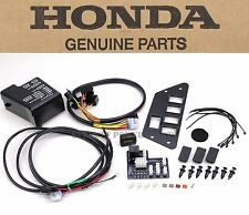 New Genuine Honda Accessory Switch Plate Volt Meter Prioneer 700 (See Note) W177