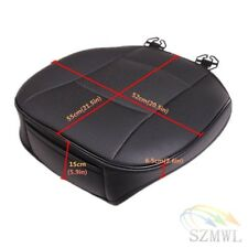 Black Luxury PU Leather 3D Full Surround Car Seat Protector Cover NEW