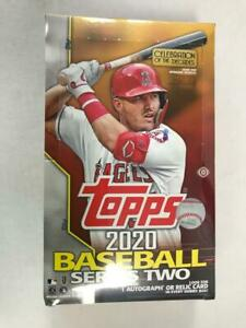 2020 Topps Series 2 Baseball Factory Sealed Hobby Box
