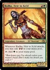 RADHA, HEIR TO KELD Planar Chaos MTG Gold  Creature — Elf Warrior RARE
