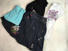 GIRLS AGE 6-7 YEARS SUMMER BUNDLE CLOTHES NEXT SKIRT TOPS SHORTS 5000