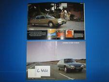 C.4162 / catalogue CITROEN  CX 2400-CX 2500 D   année modéle 1980