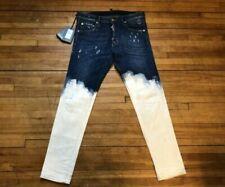 KGX il tempo è denaro uomo jeans firmati Hip Hop Strappato Sfilacciato Denim Peviani