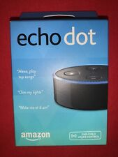 Amazon Echo Dot 2nd Generation Smart Speaker Voice Control Alexa Enabled Black