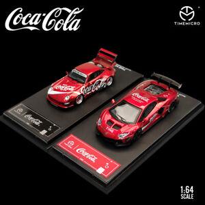1: 64 TM Lamborghini Porsche Coca-Cola alloy simulation car model collection