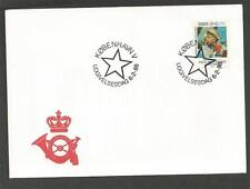 DENMARK - 1986 In Memorial of Poul Reichhardt - Danish Actor  - FIRST DAY COVER.