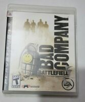 Battlefield: Bad Company Sony PlayStation 3 PS3 Complete w/ Manual