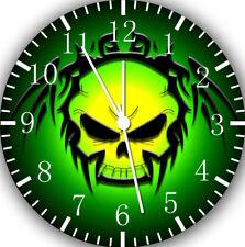 Skull Frameless Borderless Wall Clock For Gifts or Home Decor E168