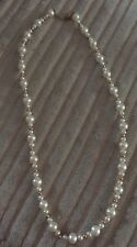"Freshwater Pearl & 10ct Gold 16"" Necklace  - NEW"