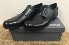 NIB Ecco 634574 11001 Men's Harold Black Dress/Formal Shoe