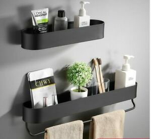 Bathroom Shelf 30/40/50 cm Kitchen Wall Shelves Shower Basket Storage Rack