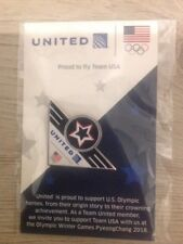 UNITED AIRLINES Olympic Winter Games PyeongChang 2018 Lapel Pin