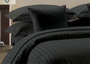"1200 TC PREMIUM BED SHEET SET 15"" DEEP PKT ALL STRIPED COLORS KING SIZE"
