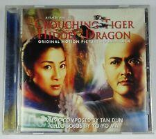 Crouching Tiger Hidden Dragon Soundtrack CD Tan Dunn & Yo-Yo Ma