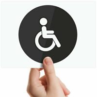 "Disabled Toilet Sign Small Photograph 6"" x 4"" Art Print Photo Gift #7841"