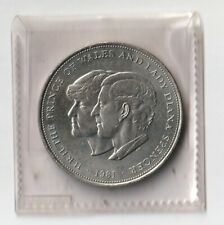 Royal Wedding Commemorative Crown Coin 1981. Uncirculated. Barclays Bank issue.