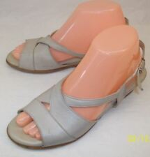 SAS Tripad Comfort Womens US7.5 tan Sling Back Peep Toe Sandals Ortho Shoes
