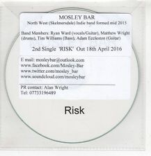 (HF791) Mosley Bar, Risk - 2016 DJ CD