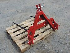 BALE SPIKES LINKAGE OR A FRAME MOUNTED. NEW. FREE DELIVERY TO UK MAINLAND