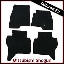 MITSUBISHI Shogun 5 porte LWB mk3 2000-2006 montato su misura moquette Tappetini Auto Nero