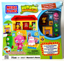 NEW Mega Bloks Moshi Monsters #80627 MONSTER'S HOUSE 79pc Playset with Poppet