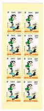 France 2001 Gaston Lagaffe, Carnet 8 timbres stamps booklet Fete du timbre