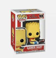 Funko Pop Gamer Bart #1035 The Simpsons Gamestop Exclusive *IN HAND*