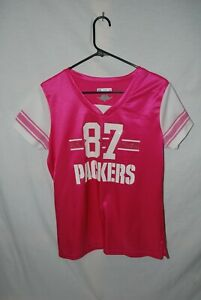 Green Bay Packers Jordy Nelson #87,Team Apparel Pink Size Large Jersey.