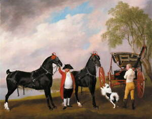 George Stubbs The Prince of Wales's Phaeton Giclee Paper Print Poster