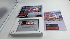 Jeu Super Nintendo SNES Magic Sword complet
