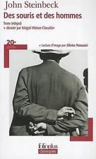 Acceptable, DES Souris ET DES Hommes (Folio Plus Classique), Steinbeck, John, Bo