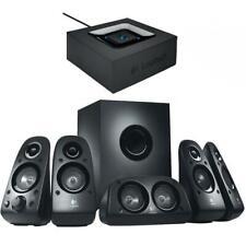 Logitech Z506 Surround Sound Speakers with Logitech Bluetooth Audio Adapter