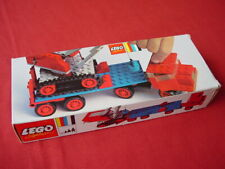 LEGO 377 CRANE WITH FLOAT TRUCK -100% COMPLETE N MINT RARE VINTAGE SET FROM 1971