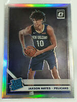 2019-20 Donruss Optic Jaxson Hayes Silver Holo Rated Rookie #190 Pelicans