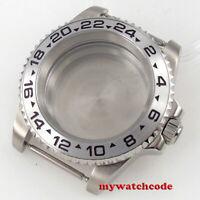 steel 40mm sapphire glass Watch Case fit Japan NH35 NH36 eta 2824 2824 8215