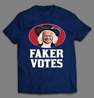 SLEEPY JOE FAKER VOTES OATMEAL PARODY POLITICAL HIGH QUALITY SHIRT
