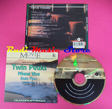 CD Movie Themes Compilation TWIN PEAKS MIAMI VICE ALBINONI no mc vhs dvd(C38)