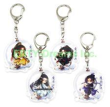 Set of 4 Grandmaster Demonic Mo Dao Zu Shi Anime Acrylic Keychain Wei WuXian Jin