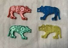 RARE Vintage VOLTRON Lions lot Mini FIGURE Toy gumball Dime Store Ljn Japan