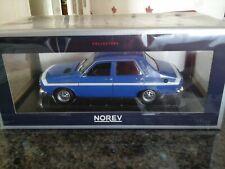 RENAULT 12 gordini 1971 NOREV 1/18e ref 185210 neuve jamais sortie de boite